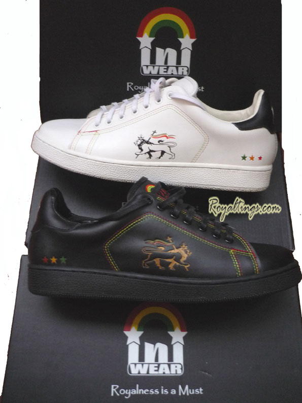 Baskets Chaussures Rasta InIWear Conquering Lion