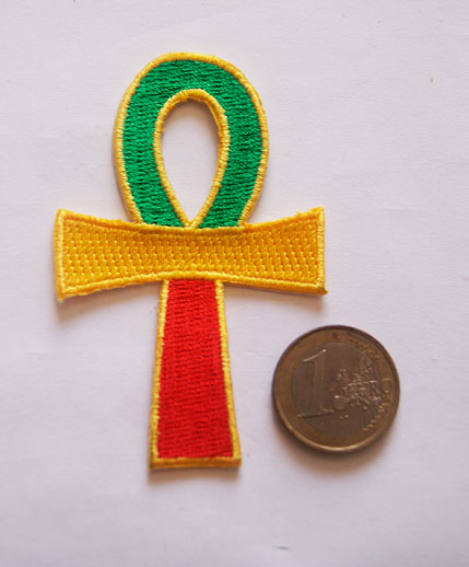 Patch ecusson croix de ankh
