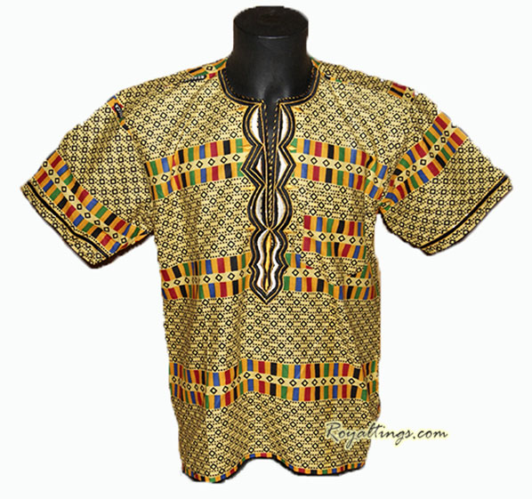 African embroiderys shirt L